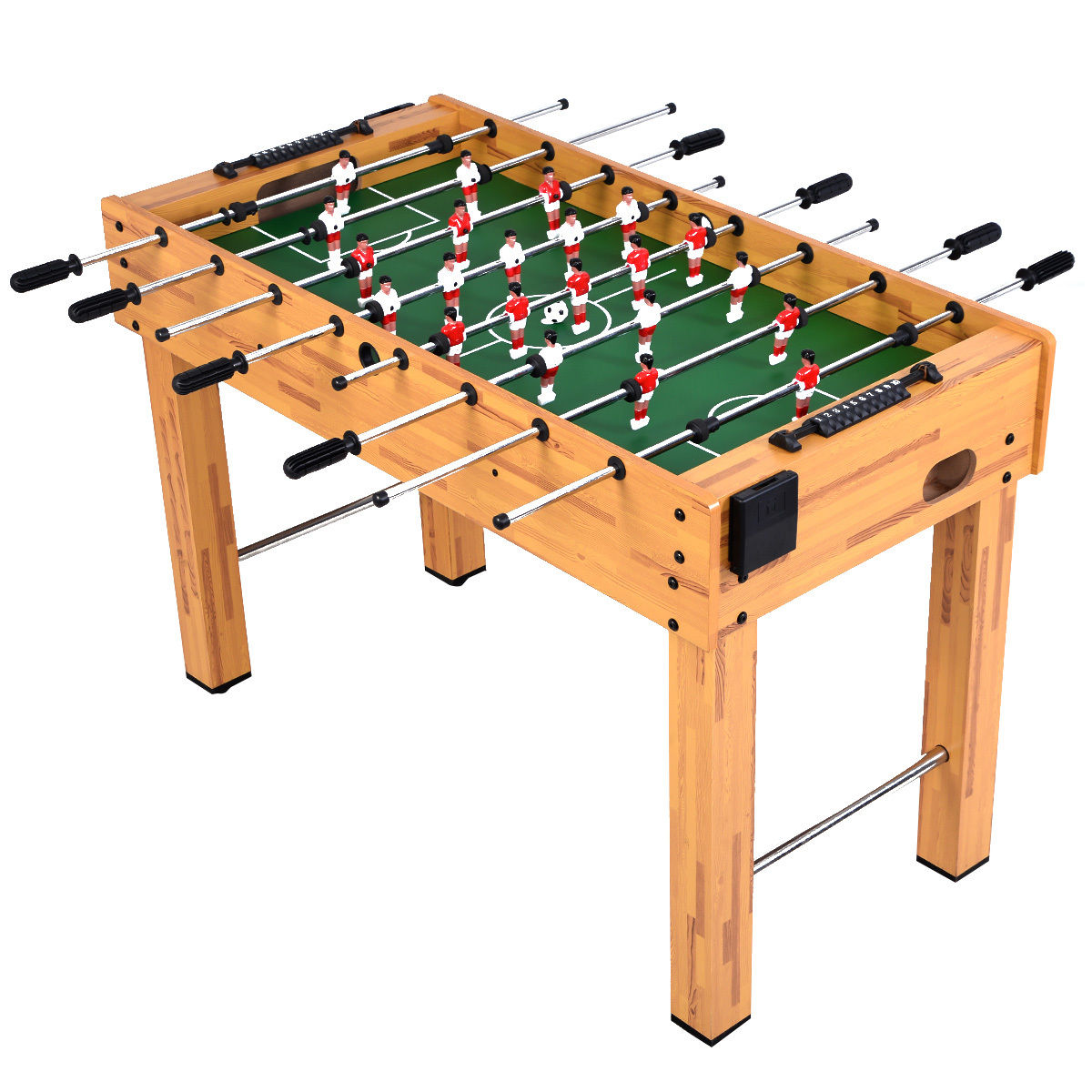 """Foosball Soccer Table 48"""" Competition Sized Arcade Game Room Hockey Family Sport SP34871"""