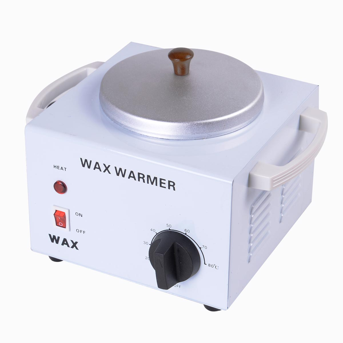 Professional Single Pot Wax Warmer Heater Machine Depilatory Salon Hot Paraffin HB82052-110V