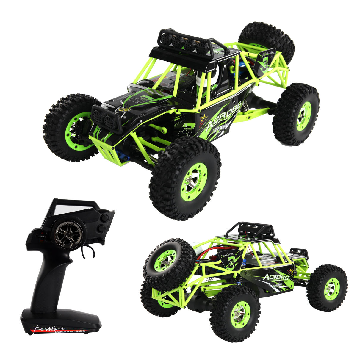 1:12 2.4G 4WD RC Off-Road Racing Car Radio Remote Control Rock Crawler Truck RTR TY563959