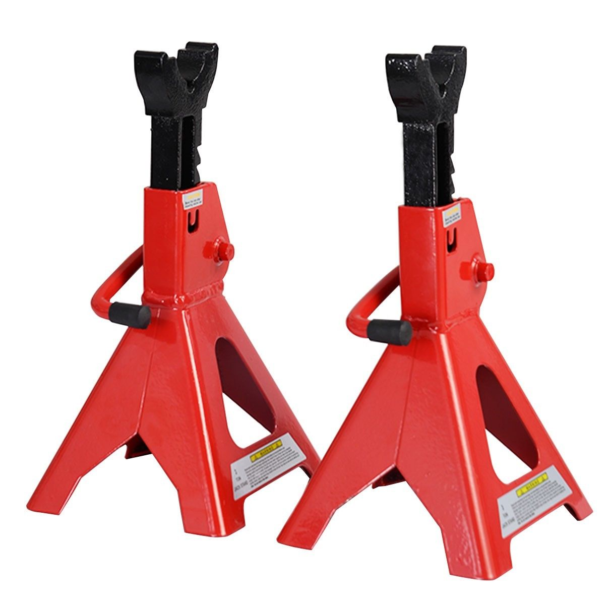 Jack Stands 3 Ton Ratcheting Adjustable Height Set Pair Heavy Duty Car Truck NEW